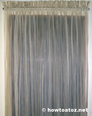 How To Darken Color Of Your Curtains - howtoatoz.net