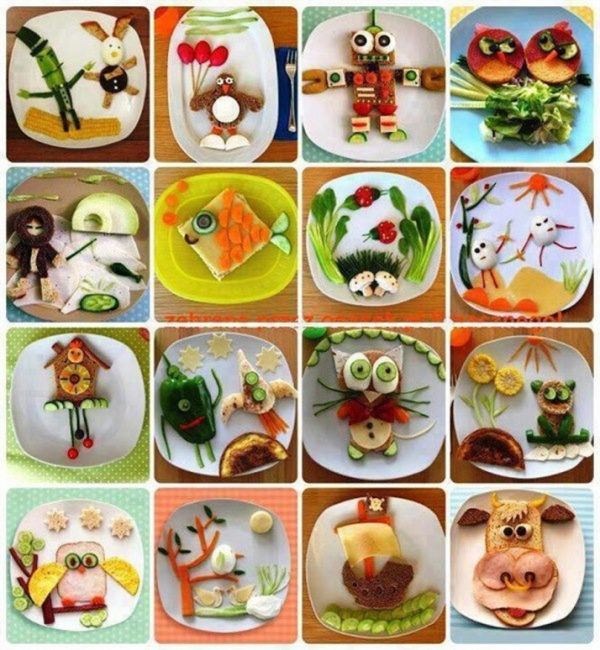 Fun ideas for sandwich decorating foodie fun pinterest for Cool food ideas for kids