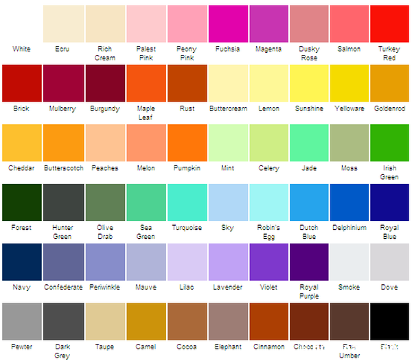 How to choose color for your room