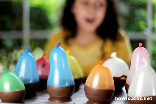 How To Make Chocolate Cups Using Balloons - How to A to Z
