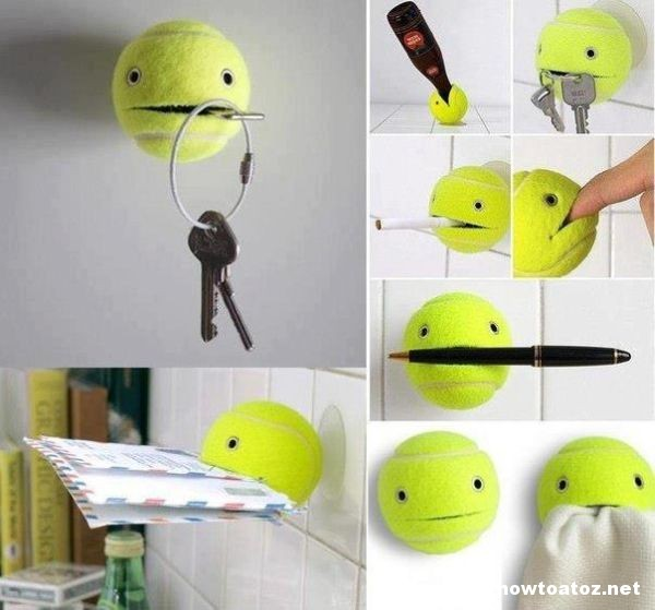 How to Reuse Broken Tennis Ball