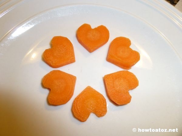 Heart Shaped Carrot
