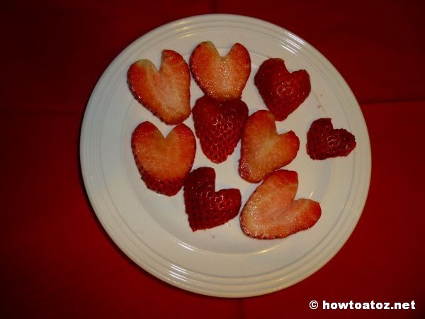 Heart Shaped Strawberry How to A to Z