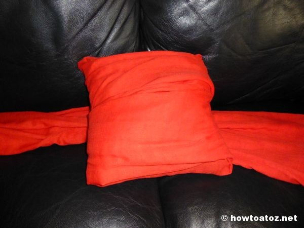 No-Sew Pillow Cover How to A to Z