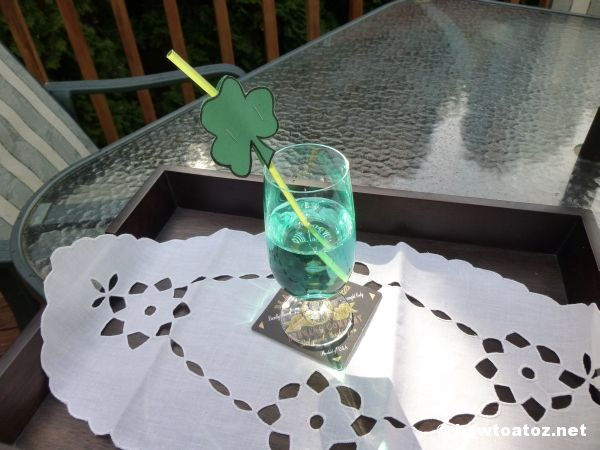 St. Patrick Day Crafts – Drink Decoration