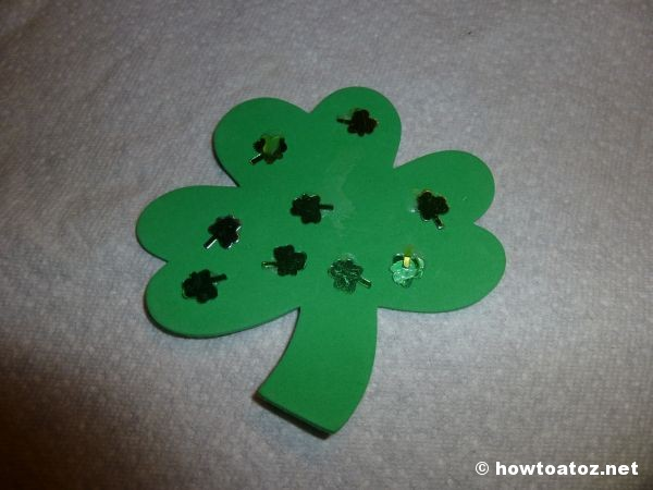 St. Patrick's Day Broach