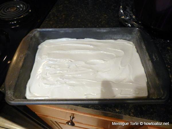 Meringue Torte Recipe - How to A to Z