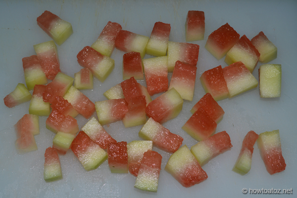 Watermelon Rind Preserve Recipe - How to A to Z