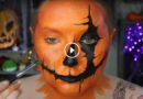 Pumpkin Head Halloween Makeup Tutorial