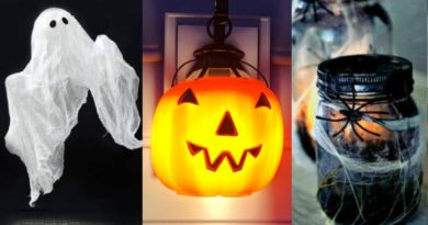 14 Easy Crafts Ideas at Home for Halloween